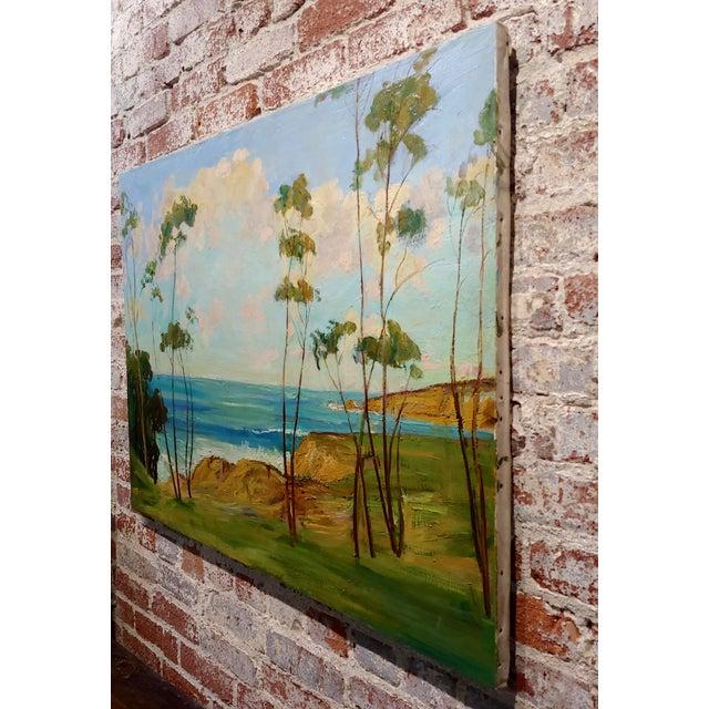 "James Arthur Merriam ""California Coastline"" Oil Painting For Sale In Los Angeles - Image 6 of 8"