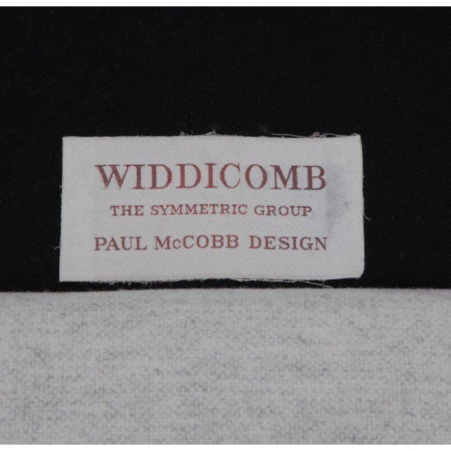 Wood Pair of Paul McCobb Symmetric Group Lounge Chairs by Widdicomb For Sale - Image 7 of 8
