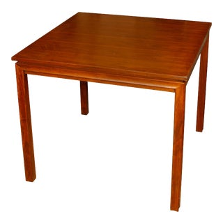 Vintage Wood Games Table Dunbar Style For Sale
