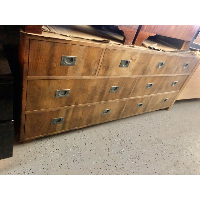 1970s Henredon Circa 76 Collection Campaign Chest For Sale - Image 11 of 12