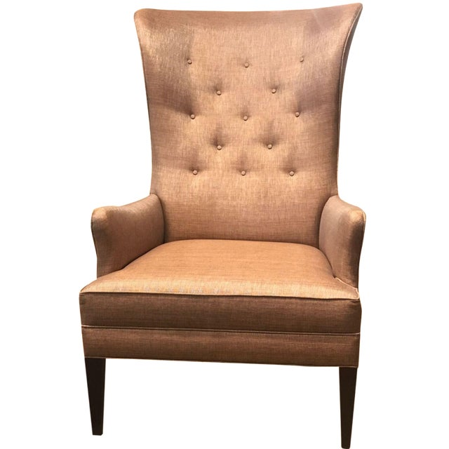 Hickory Chair Modern Bird Wing Chair For Sale