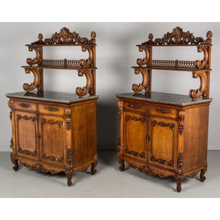 19th Century Louis XV Style Buffets or Sideboards - a Pair Preview