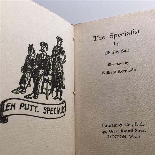 1943 The Specialist Privy Humor London Book Chairish