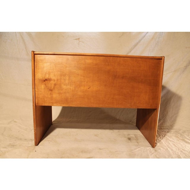 Mid-Century Student Desk with White Top - Image 5 of 8