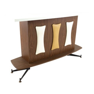 Mid Century Stand Up Bar For Sale