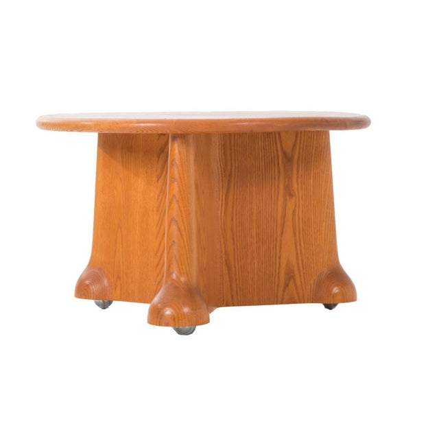 Important Wendell Castle Side Table For Sale - Image 5 of 5