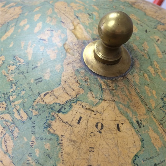 19th C. French Globe Terrestre - Image 7 of 11