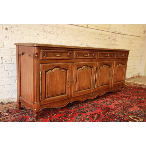 John Widdicomb Vintage Long Dresser - Image 6 of 9