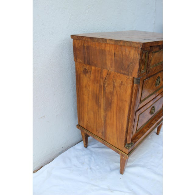 19th Century Italian Fruitwood Nightstand For Sale - Image 10 of 12