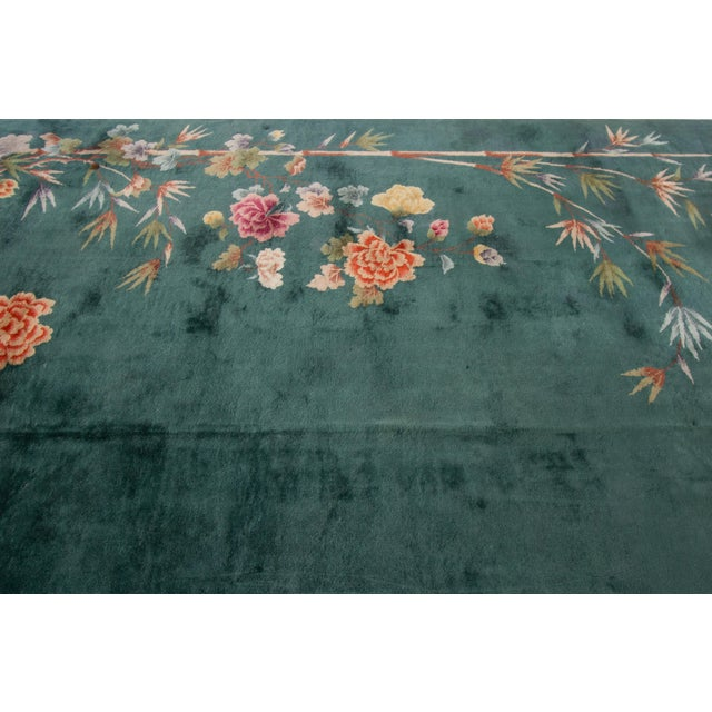 "Apadana-Antique Chinese Rug, 8'9"" X 11'6"" For Sale In New York - Image 6 of 11"