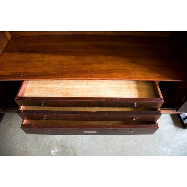 Brown Mid Century Sideboard of Jacaranda Wood, Brazil, 1950s For Sale - Image 8 of 11