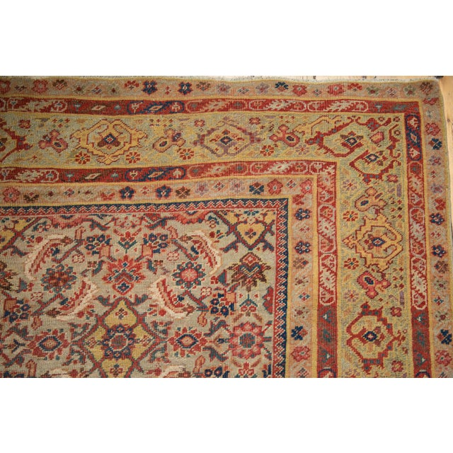 "Antique Distressed Malayer Rug Runner - 6'5"" X 12'8"" For Sale - Image 10 of 13"