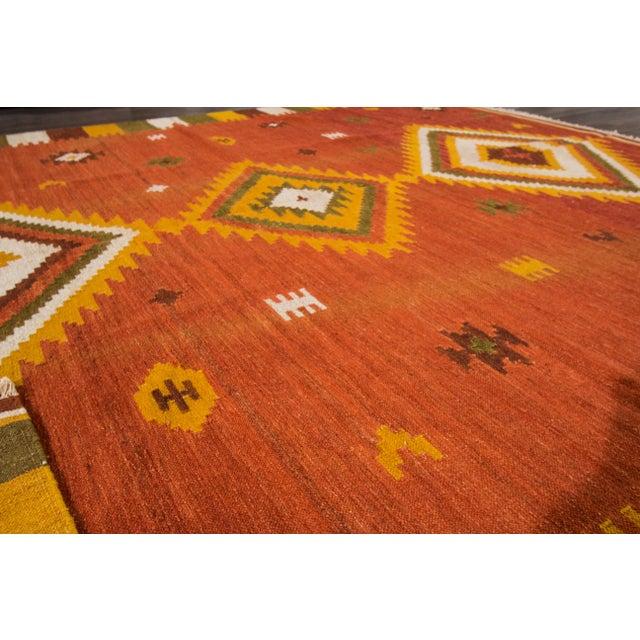 "Apadana - Modern Kilim Rug, 8'7"" x 9'9"" For Sale In New York - Image 6 of 7"