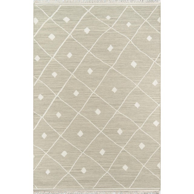 "Erin Gates by Momeni Thompson Appleton Sage Hand Woven Wool Area Rug - 5' X 7'6"" For Sale In Atlanta - Image 6 of 6"