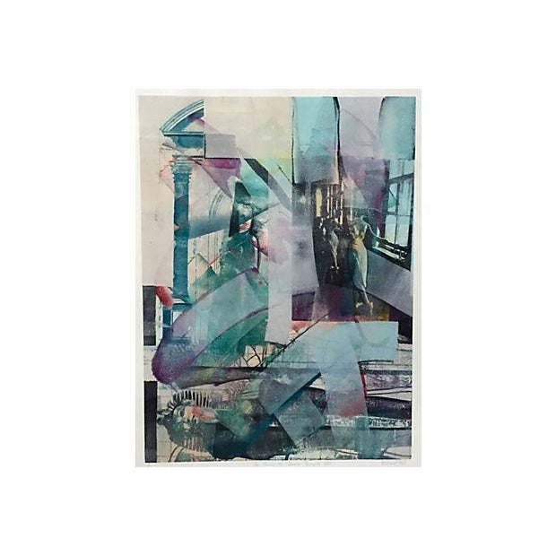 Richard Hall Modernist Abstract Painting - Image 2 of 6