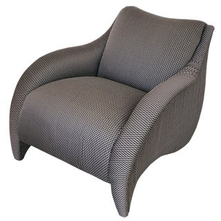 Vladimir Kagan Wave Lounge Chair for Directional For Sale
