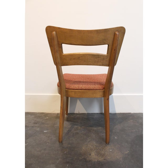 "Mid-Century Modern Heywood Wakefield ""Dog-Bone"" Dining Chairs - Set of 6 - Image 5 of 11"