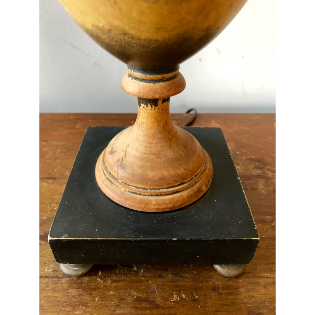 Late 19th Century Antique Knife Urn Table Lamp For Sale - Image 5 of 8
