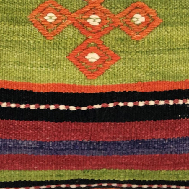At Rug & Relic, we're dedicated to authenticity and fair trade, and our kilim pillows are no exception. Created using only...