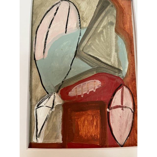 Contemporary Abstract Mixed-Media Painting For Sale - Image 9 of 10