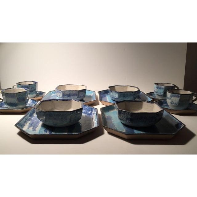 Gordon Martz Ceramic Teacups / Dinnerware For Sale - Image 10 of 12