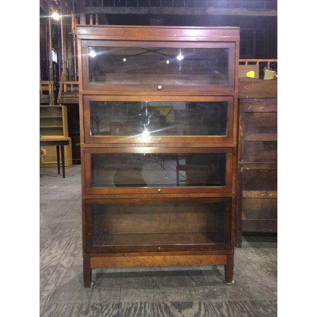 Antique Globe Wernicke Lawyer's Barrister Bookcase - Image 10 of 10