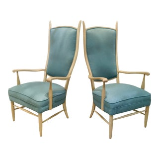 Mid Century Armchairs Ed Wormley for Dunbar - a Pair For Sale