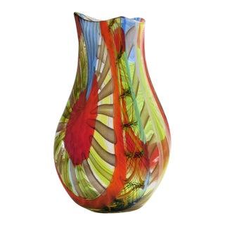 Gianluca Vidal Murano Glass Vase
