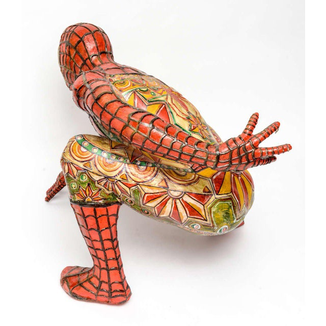 Domenico Pellegrino Spiderman Sculpture - Image 4 of 10