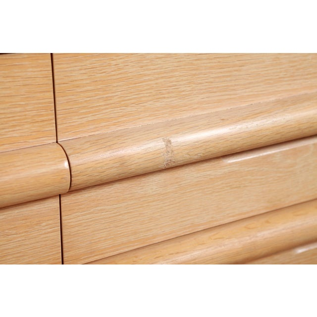 1980s 1980s Vintage Jay Spectre for Century Furniture Cerused Oak Dresser For Sale - Image 5 of 13