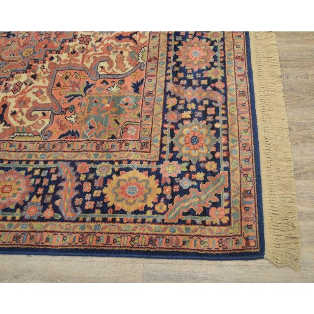1990s Karastan Heriz Serapi 9 X 12 Room Size Rug # 726 For Sale - Image 5 of 13