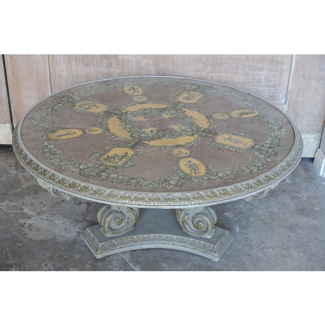 Acanthus Carved Italian Coffee Table - Image 4 of 9