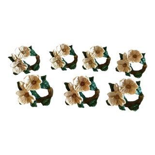Dogwood Napkin Rings - Set of 6