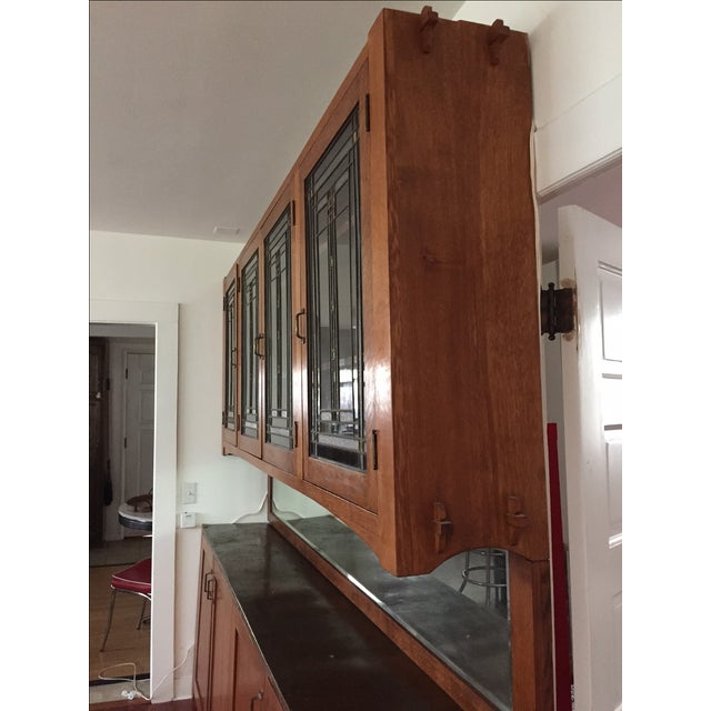 Craftsman Wall Cabinet - Image 8 of 9