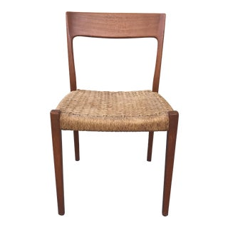 20th Century Scandinavian Teak Svengaard Markaryd Side Chair For Sale