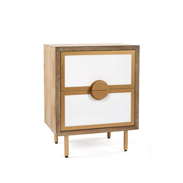 2010s Positano 2 Drawers Nightstands For Sale - Image 5 of 5