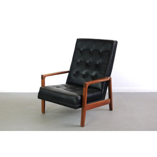 1960s Vintage Milo Baughman for James Inc High Back Lounge Chair For Sale In Orlando - Image 6 of 6