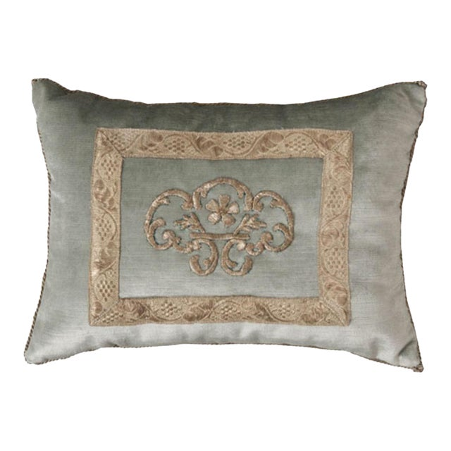 Antique Textile Pillow By B.Viz Designs - Image 1 of 8