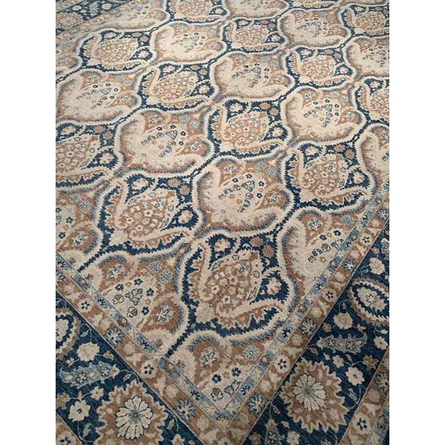Traditional Pasargad 21st Century Tabriz Haj Jalili Hand-Knotted Rug - 9′9″ × 13′10″ For Sale In Washington DC - Image 6 of 9