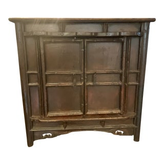 Late 19th Century Antique Asian Table Top Cabinet For Sale