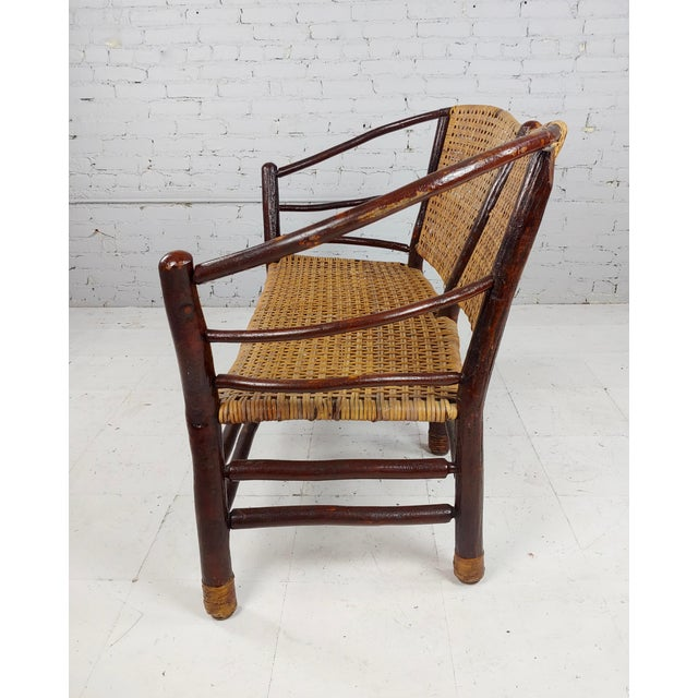 Antique 1920s Bentwood Settee and Chairs -Salon - Set of 3 For Sale In Los Angeles - Image 6 of 12