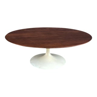 1960s Mid-Century Modern Eero Saarinen for Knoll Tulip Cocktail Table For Sale