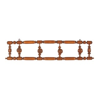 1920s French Faux Bamboo Coat Rack For Sale
