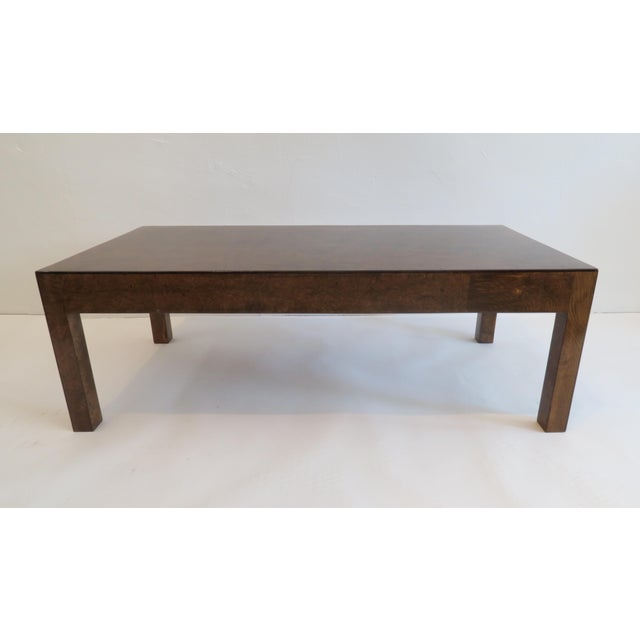 Vintage Burlwood Coffee Table - Image 2 of 6