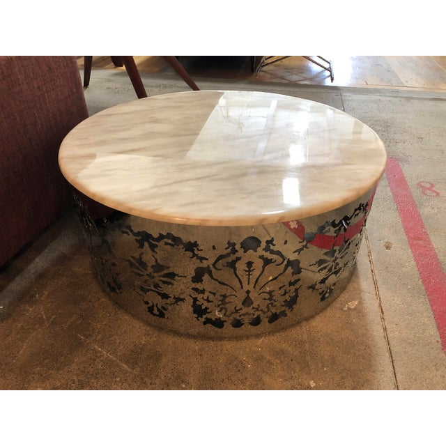 Vig Furniture A X Casa Luxury Collection Round Coffee Table Chairish