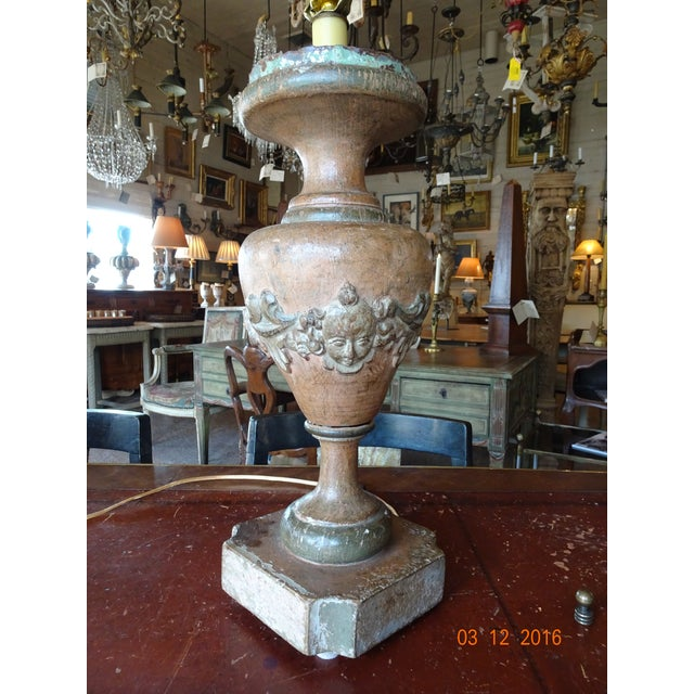 Italian 19th Century Pair of Lamps For Sale - Image 12 of 13
