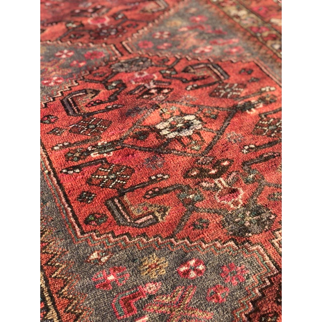 1940s Vintage Persian Hosenibad Runner Rug - 3′7″ × 10′2″ For Sale - Image 10 of 12