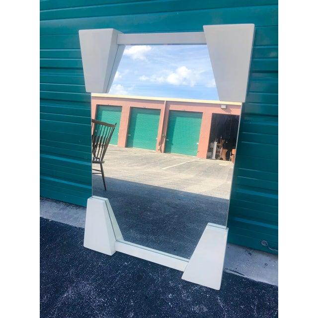 Fantastic Roche Bobois lacquered mirror.