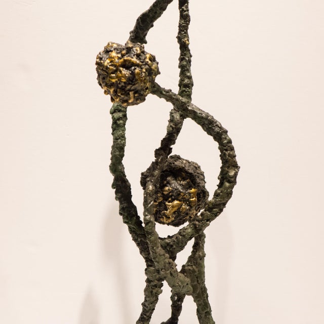 "Abstract James Bearden Sculpture ""Deflection"" For Sale - Image 3 of 8"