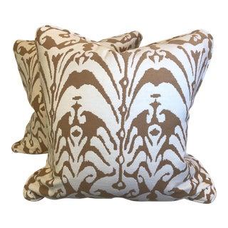 """Ikat 22"""" Pillows-A Pair"""